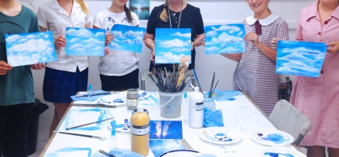 Tips for Painting Clouds - with Lyn Hammond