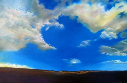 Clouds Are in the Air with artist Lyn Hammond